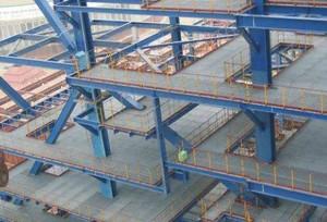 钢结构室外平台